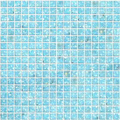 Illustration of blue Tile mosaic background for design