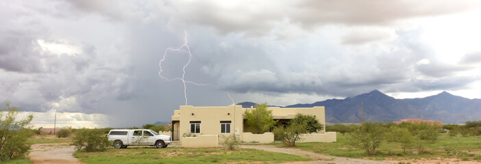 A Dance of Lightning in the Foothills
