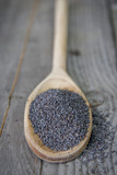 Spoon of Poppy Seeds