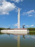 Victory Memorial to Soviet Army (Riga, Latvia) poster
