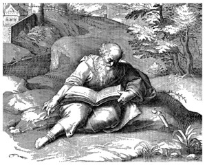 Ancient Greece : Philosopher Writing