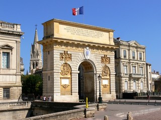 Triumphal arch of Louis the fourteenth, France, Montpellier