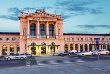 Zagreb main railway station