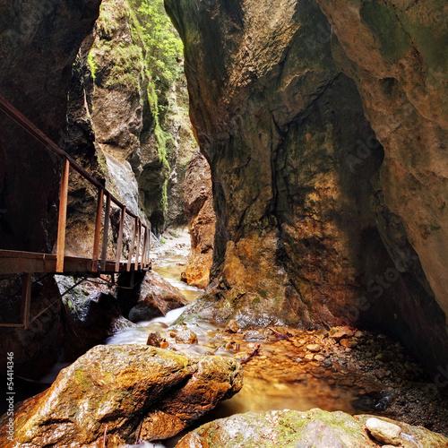 Canyon in janosikove diery - Slovakia