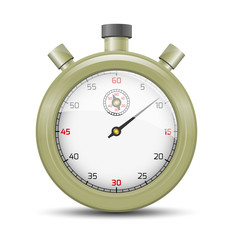 The olive stopwatch