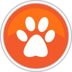 Иконка с изображением следа животного