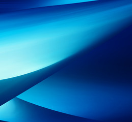 Abstract Background, blue smooth wave template
