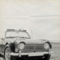 Oldtimer Background Triumph
