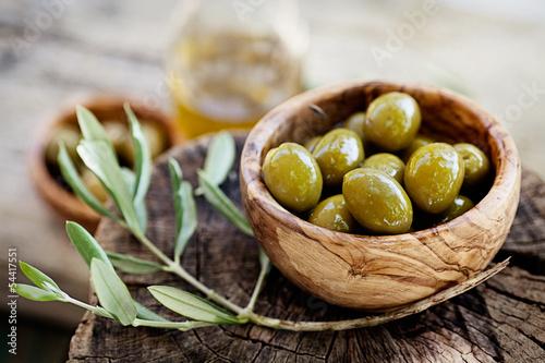 Plakat Świeże oliwki
