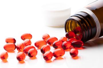 vitamin E capsules