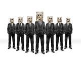 group businessmans