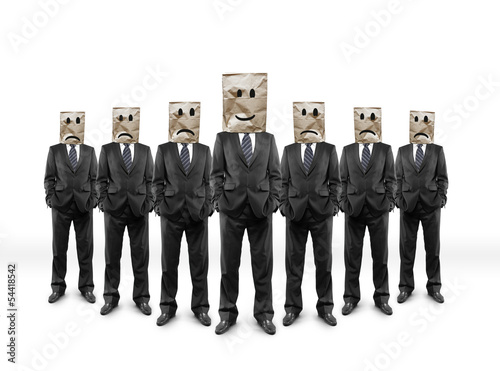 group businessmans