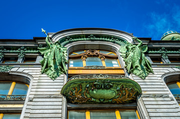Singer House Architectural Details