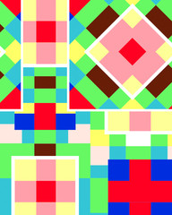 cubism color full