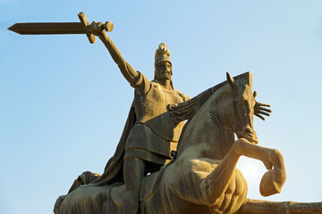 Monument Vardan Mamikonyan. Armenia