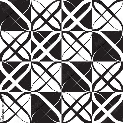 monochromatyczny-geometryczny-wzor