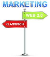 Marketing Schild
