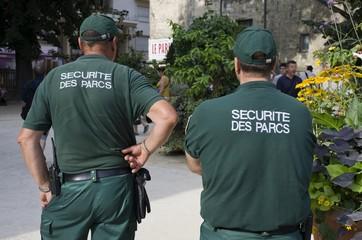 Agent de sécurité des parcs