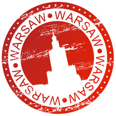 Stamp - Warsaw, Poland