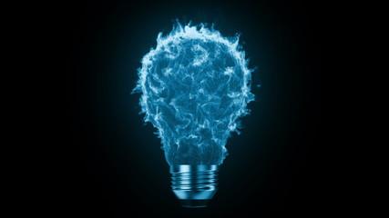 Flaming bulb
