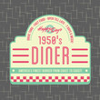 1950s Diner Style Logo Design - 54430915