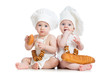 bakers children boy and girl