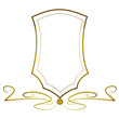 Wappen gold Vektor Abstrakt