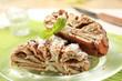 Cinnamon-walnut roll