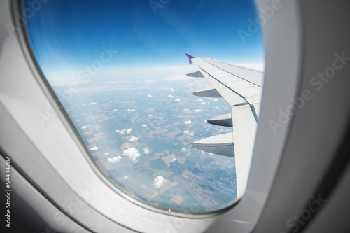 canvas print picture airplane
