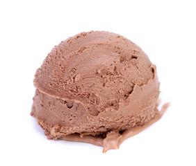 Chocolate Ice Cream Scoop.
