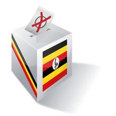 Wahlbox Uganda