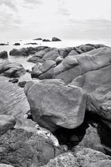 Littoral rocheux en Corse du Sud