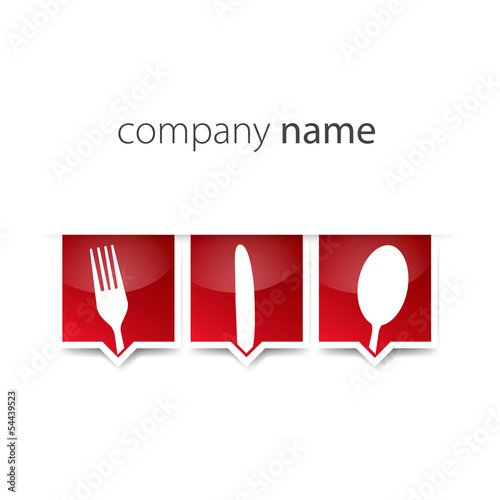 Red Logo Menu