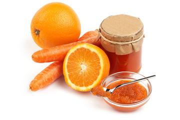 orange and carrot jam