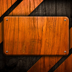 wooden template background