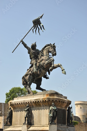 Statue Guillaume le Conquêrant à Falaise 5 Poster