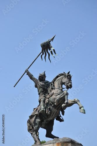 Poster Statue Guillaume le Conquêrant à Falaise 4