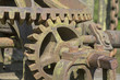 Detail einer altertümliche Schleusenvorrichtung