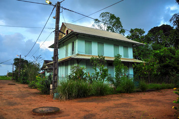 Ecole de Kaw village