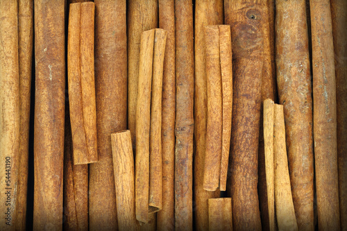 Close up of cinnamon sticks
