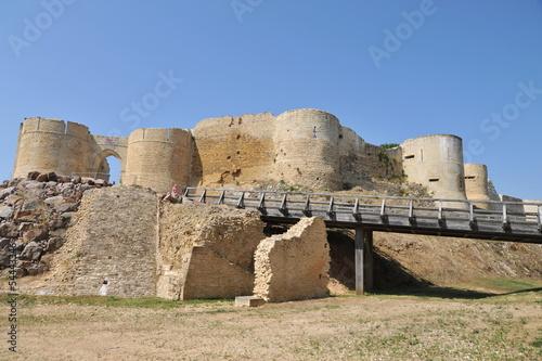 Accès et défenses 2 , château de Falaise Poster
