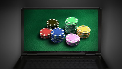 Casino 6 of chips