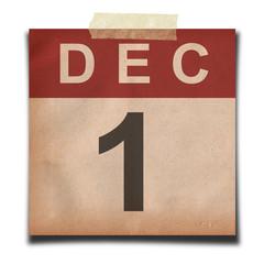 Grunge calendar