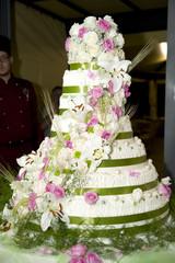 torta rose nastro