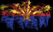 smoking flag of arizona - 54444919