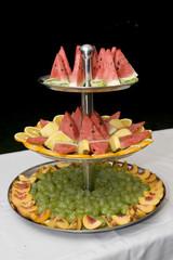 trittico frutta