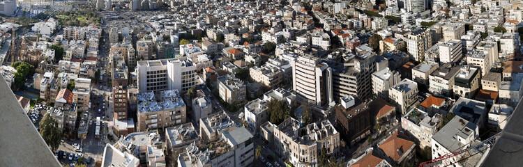 Tel-Aviv Cityscape Panorama