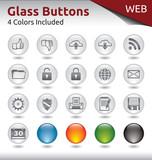 Glass Buttons WEB