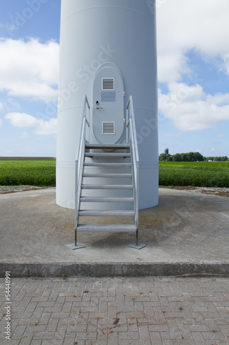 Wind turbine entrance