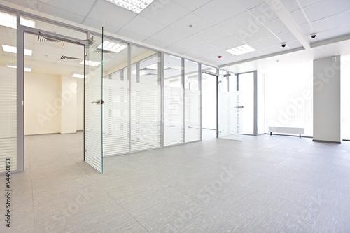 Leinwandbild Motiv Empty office hall